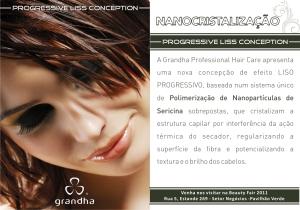 Lançamento da Nanocristalização será na Beauty Fair 2011. Clique na imagem para ampliá-la.