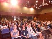 Auditório do CRQ no início da manhã, durante a abertura do Congresso.