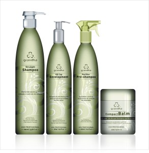 Purifier Pre-Shampoo 500ml - Straight Shampoo 1000ml - Oil Cup Envelopment 500g - Compact Balm 450g