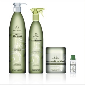 1) Purifier Pre-Shampoo 500ml - 2) Up Ice Shampoo 1000ml - 3) Revivance Dual Mask 450g - 4) Building Fiber 20ml